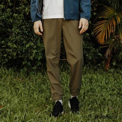 Hang Ten-男裝-恆溫多功能-四面彈鬆緊防輕潑水舒適束口褲-綠色