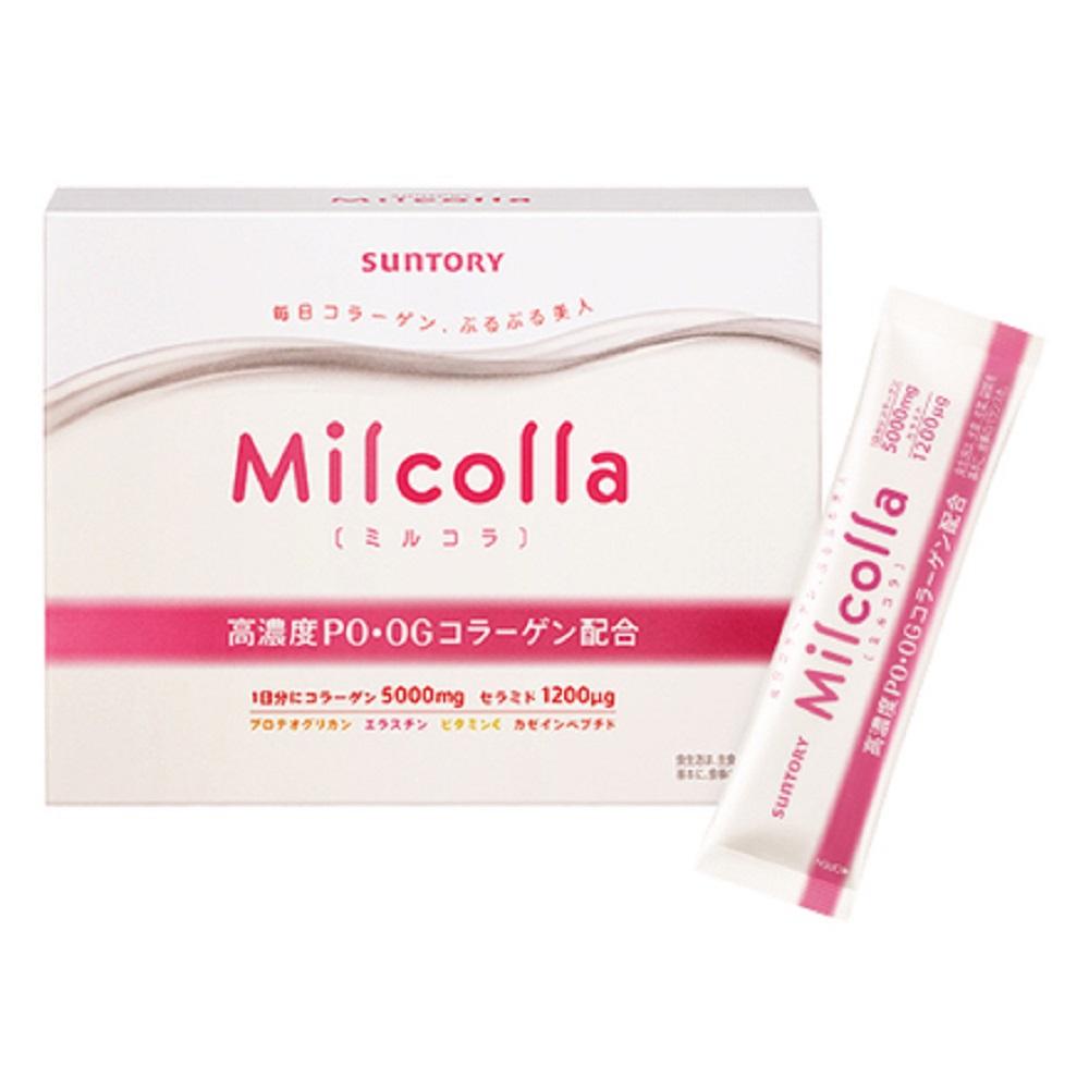 (折價券優惠)SUNTORY三得利 Milcolla 蜜露珂娜膠原蛋白粉(30日份/盒