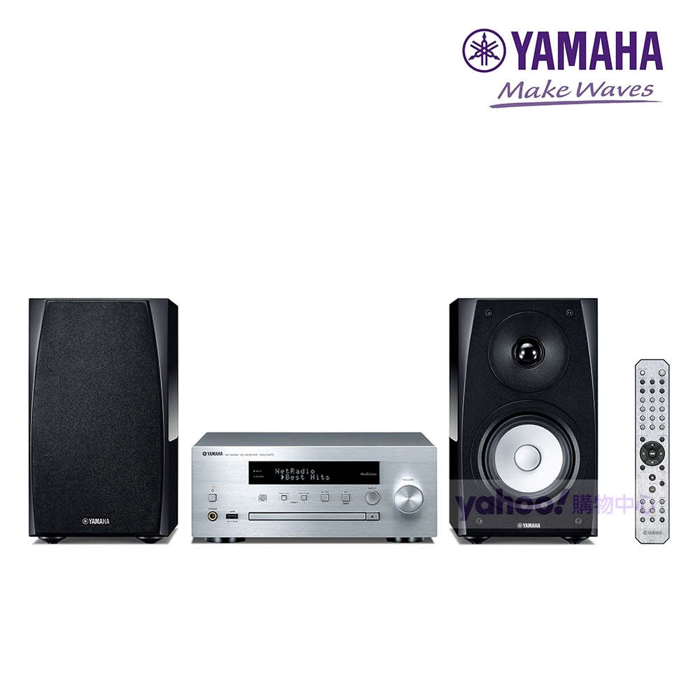 YAMAHA 山葉 MCR-N570 組合式小型音響 (台灣山葉公司貨)