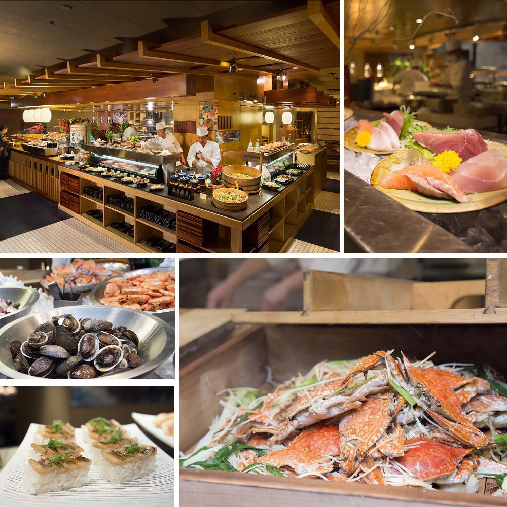 台北君悅酒店 彩日本料理平日午間或晚間自助餐單人券(2張)