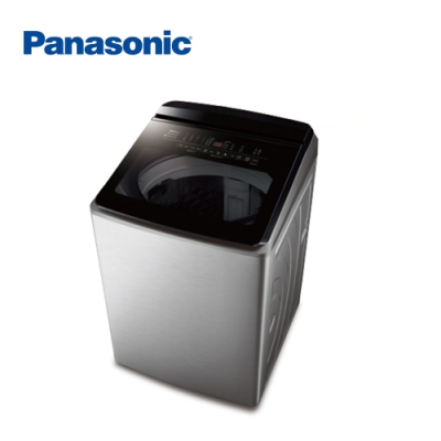 Panasonic國際牌 19KG 變頻直立式洗衣機 NA-V190KBS-S
