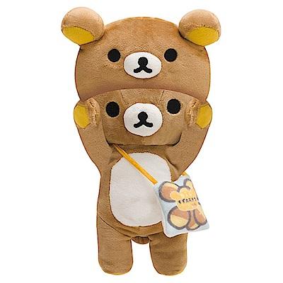 拉拉熊懶熊布偶衣系列毛絨公仔。懶熊 San-X