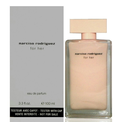 Narciso Rodriguez For Her 同名經典女香淡香精 100ml Tester 包裝