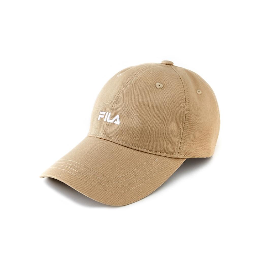 FILA 經典款六片帽-卡其 HTV-1001-KK