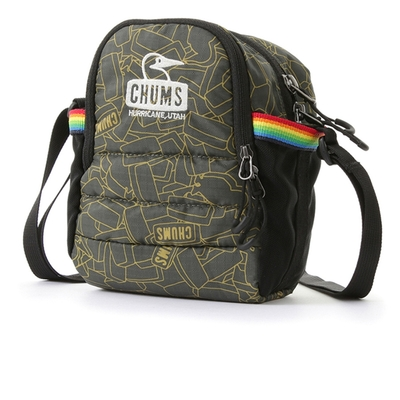 CHUMS Spring Dale Padded Shoulder Pouch側背包 Logo Block-CH603167Z190