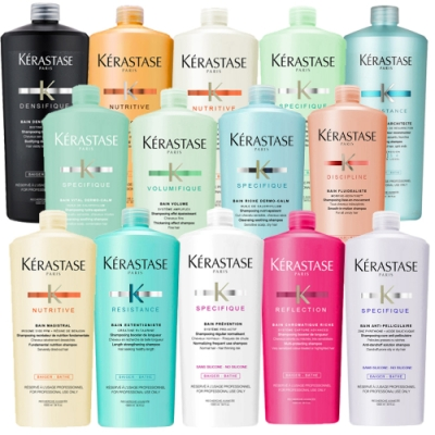 *KERASTASE卡詩 明星洗髮1000ml系列 限量多款(附壓頭)