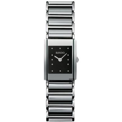 RADO 雷達 Integral  精密陶瓷女錶-R20488172