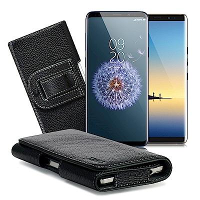 Xmart  三星Note 8 / S9+ /A6+ / A8+ 麗緻真皮腰掛皮...