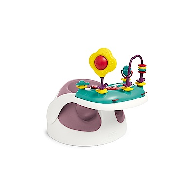 Mamas&Papas二合一育成椅v2-乾燥玫瑰(含玩樂盤)
