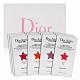 Dior迪奧 癮誘超模巨星唇膏四色試用卡(0.4ml*4)x3 product thumbnail 1