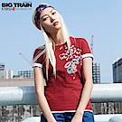 BigTrain 京都戀物語短袖女T-女-紅色