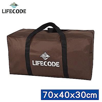 LIFECODE 野營裝備袋70x40x30cm(L號)-(咖啡色)