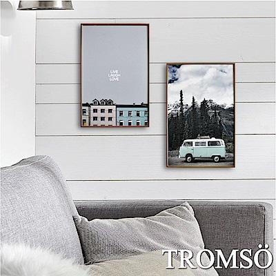 TROMSO 北歐生活版畫有框畫-北歐好時光WA61(兩幅一組)