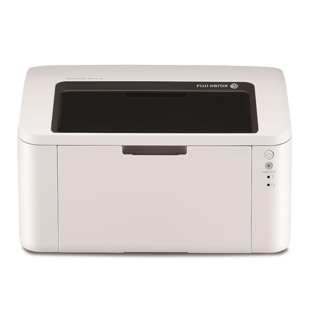 FujiXerox P115w 黑白無線雷射印表機+CT202137碳粉(超值組合)