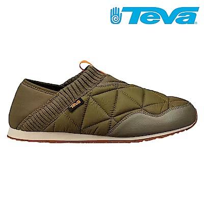 TEVA Ember Moc 男經典波羅麵包鞋 橄欖綠