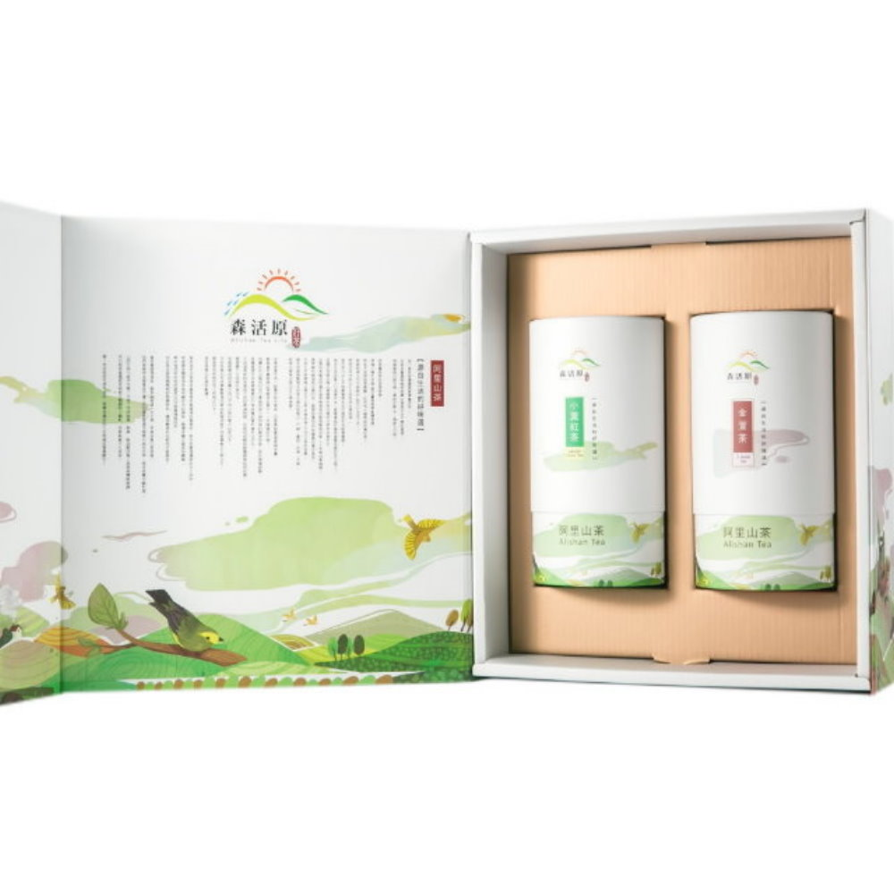 森活原-阿里山高山茶葉禮盒(2罐入+禮盒)