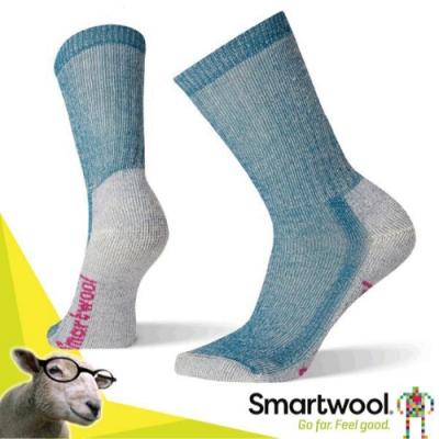 SmartWool 美國製造 美麗諾羊毛 輕量避震戶外中長襪(2入)_沼澤灰