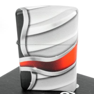 ZIPPO 美系~Flame-火焰設計-540色彩印工法打火機
