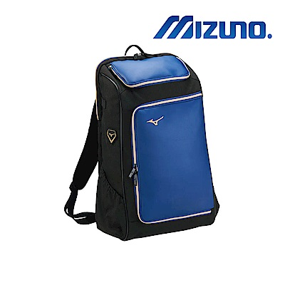 MIZUNO 棒壘個人裝備袋(背包) 藍x黑 1FTD900107