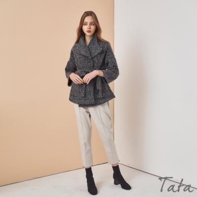 顯瘦腰綁帶開衫外套 TATA-(M~XL)