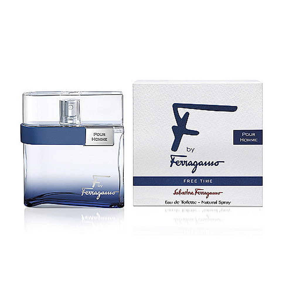 Salvatore Ferragamo Free Time 非凡之旅男性淡香水 100ml