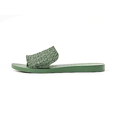 IPANEMA SKIN系列 一字拖鞋-墨綠