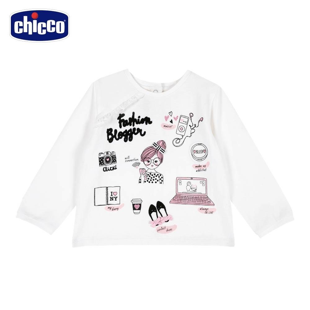 chicco-時尚女孩-時尚長袖上衣