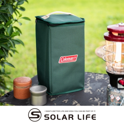 Coleman 軟式收納袋/CM-8017J.汽化燈專用袋 露營燈收納袋 瓦斯燈保護袋 營燈袋攜行袋 裝備收納包