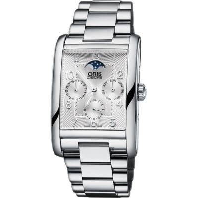 ORIS 豪利時 Rectangular 月相日曆機械錶-32x47mm