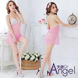 Angel天使 歐美透明誘惑睡衣蕾絲 BP129