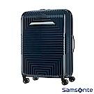 Samsonite新秀麗28吋D200 幾何圖形可擴充硬殼行李箱(藍)
