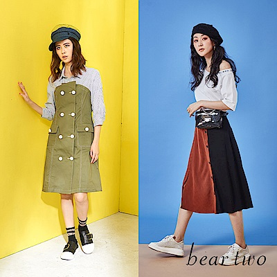 [時時樂限定]beartwo 品牌造型服飾 590-四款任選