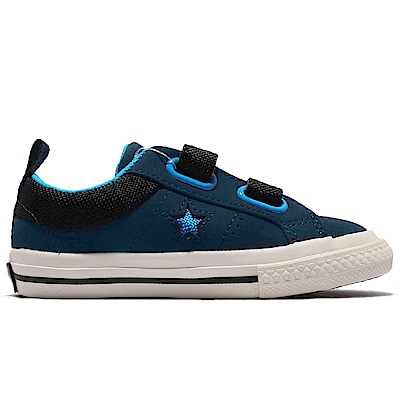 CONVERSE ONE STAR 嬰幼休閒鞋-深藍