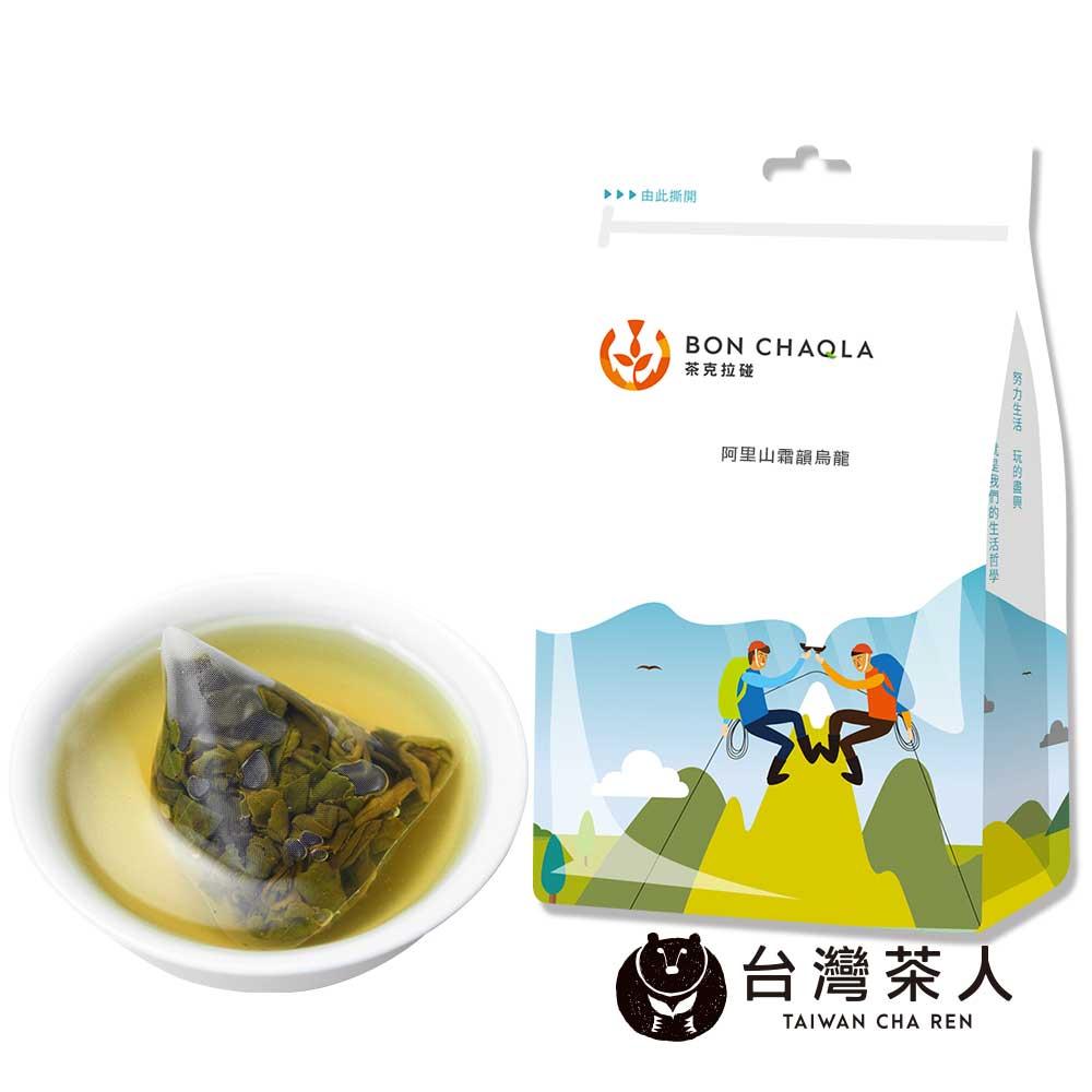 台灣茶人 霜韻烏龍三角茶包(18入/袋)