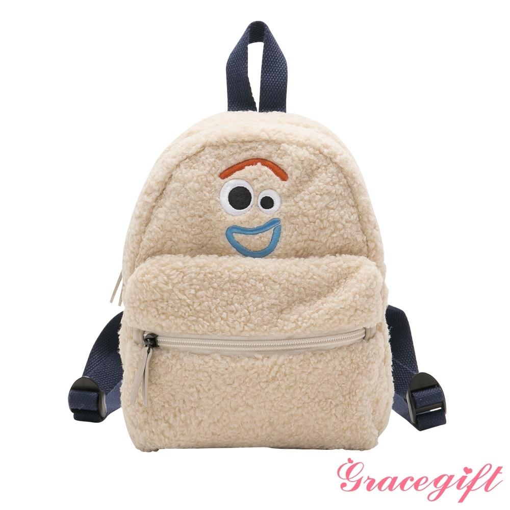 Disney collection by grace gift-玩具總動員叉奇Q毛後背包 米杏