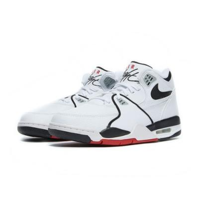 NIKE 籃球鞋 氣墊 緩震 包覆 運動鞋 男鞋 白黑紅 DB5918100 AIR FLIGHT 89