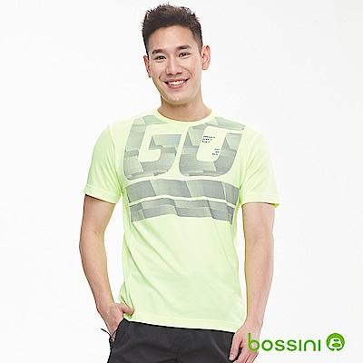 bossini男裝-ZtayDry快乾圓領短袖T恤04螢光