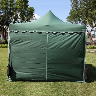 頂級SOLAR炊事帳篷配件-防水遮陽圍布門.拆裝簡易擋風雨防潑水展場園遊會活動客廳帳棚邊布