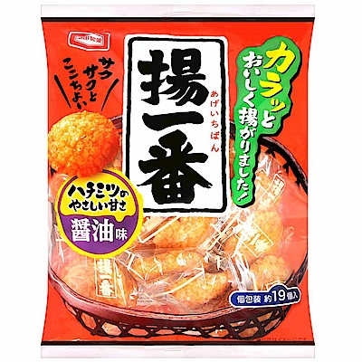 龜田製果 揚一番醬油米果(138g)