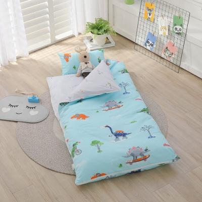 【IN HOUSE】恐龍郊遊日-100%精梳棉200織紗-兒童睡袋