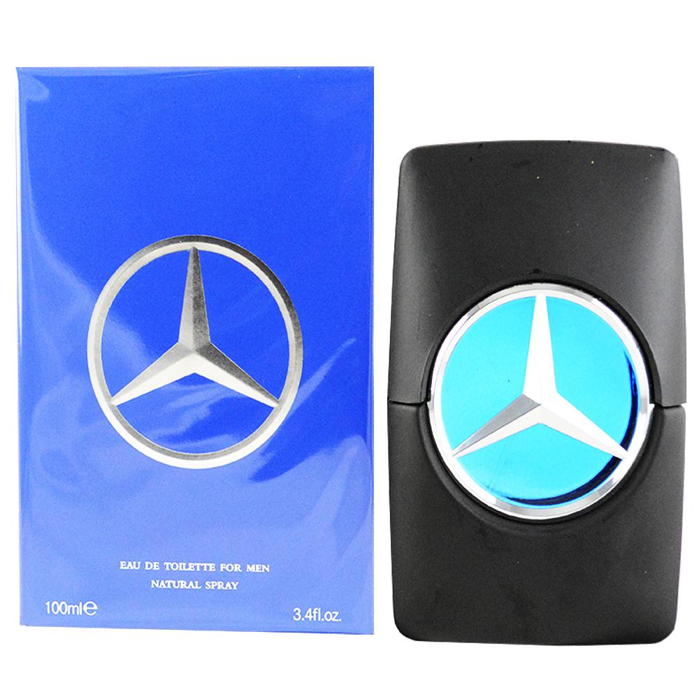 【Mercedes Benz 賓士】Men 王者之星淡香水(100ml)
