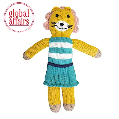 global affairs 童話手工編織安撫玩偶(36cm)-花媽獅