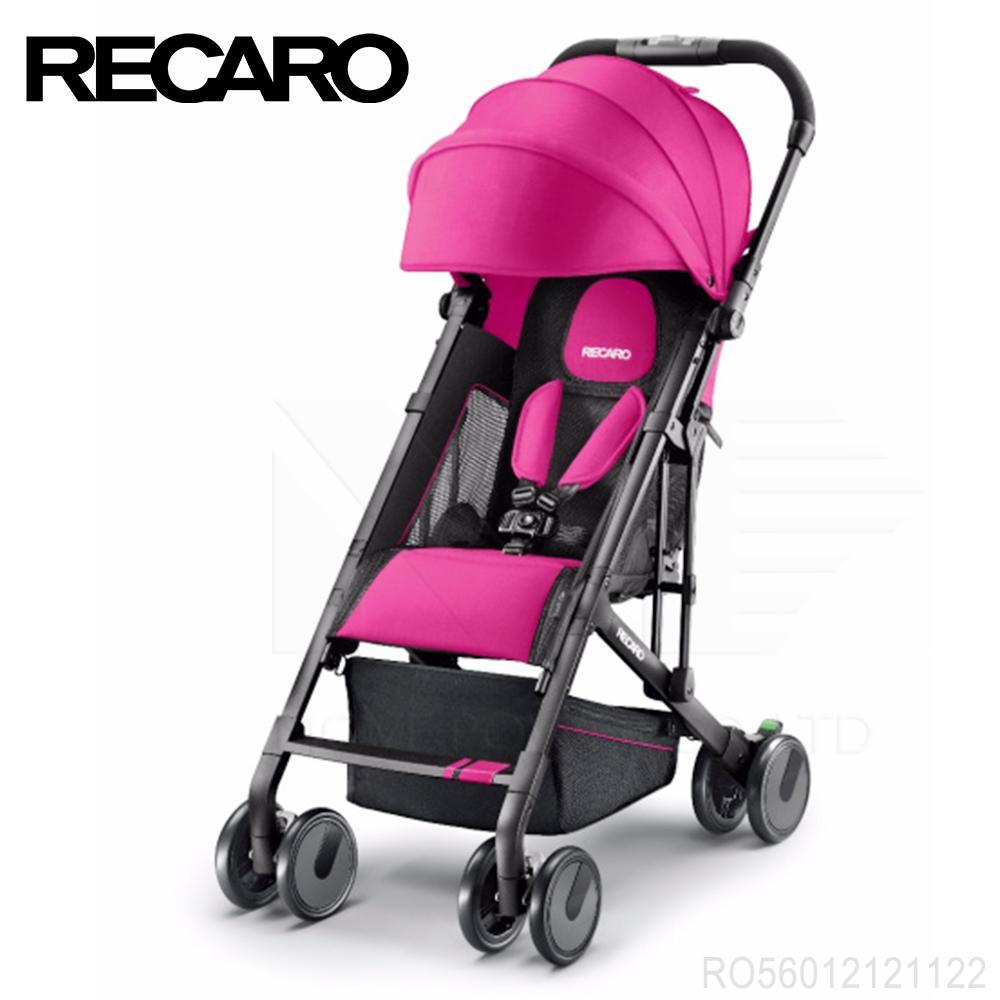 德國《RECARO》Easylife嬰幼兒手推車-桃紅色