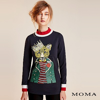 MOMA 搖滾國王豹上衣