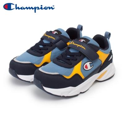 【Champion】COLOR DARTS 運動鞋 中童-丈青/藍/黃(KFUS-0388-69)