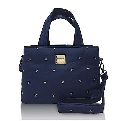 VOVAROVA空氣包-優雅雙用包-心空閃耀(藍)