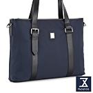 74盎司 Presence 配皮設計托特包[G-1047]藍