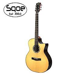 SQOE S460T-SK 面單民謠木吉他