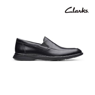 Clarks   工藝世家  Un Lipari Step   男皮鞋  黑色   CLM49649SD20