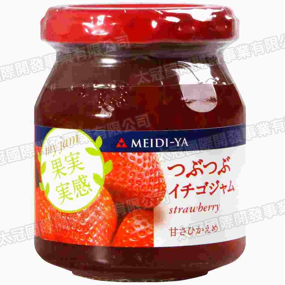 明治屋 果實感果醬-草莓(160g)